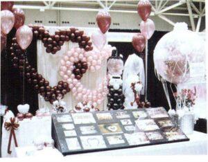 оформление шарами свадьбы