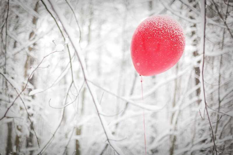 как хранить шары зимой