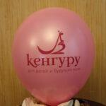 логотип Кенгуру на розовом шарике