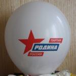 шар партия Родина Россия
