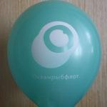 голубой шарик Океанрыбфлот
