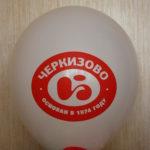 логотип Черкизово на воздушном шаре