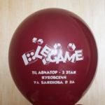 логотип le game на шаре