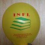 Реклама школы иностранных языков на шаре