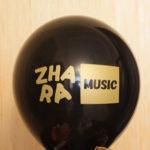 нанесение логотипа 2 цвета на шарик