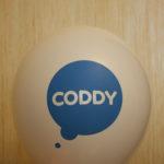 стильный шарик с логотипом