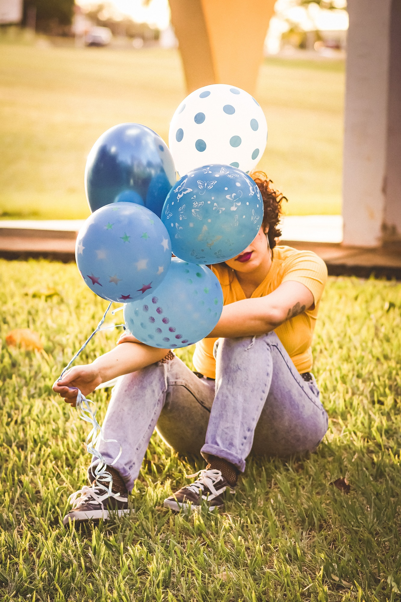 фото с шарами