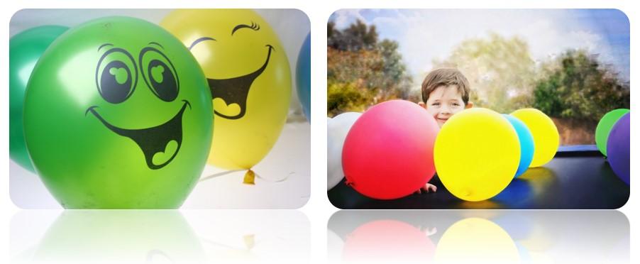 закажите печать на воздушных шарах в «100 улыбок»